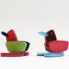 メガネ端材製のメガネスタンド「Glasses-duck」