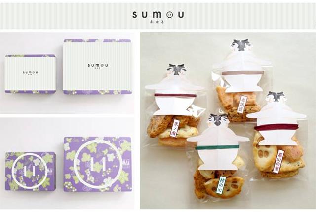 zuca さん「sumou おかき」